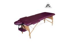 Массажный стол Dfc Nirvana, Relax, дерев. ножки, цвет сливы (Plum)