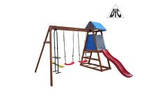 Детский деревянный городок DFC DKW044 (два короба)