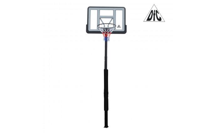 Баскетбольная стационарная стойка Dfc Ing44p3 112x75cm акрил раздвиж. рег-ка (три короба)