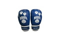 Перчатки боксерские VagroSport RING RS808, 8 унций, синий