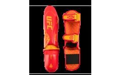 UFC Premium True Thai Защита голени (красная)