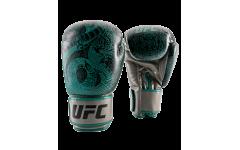 (Перчатки для бокса UFC PRO Thai Naga 12 Oz - зеленые)