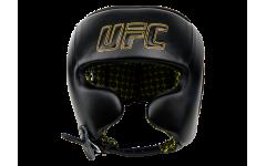 Шлем с защитой щек на шнуровке UFC (Черный - M)