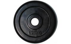 Диск обрезиненный черный House Fit (1,25 кг; 31 мм)