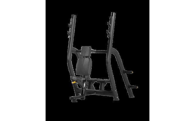 Скамья для жима вертикальная Bronze Gym H-025b (черный)