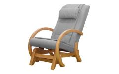 Массажное кресло-качалка EGO TWIST EG-2004 SHIMO Серый (Рогожка)