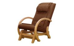 Массажное кресло-качалка EGO TWIST EG-2004 SHIMO Коричневый (Рогожка)