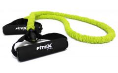 Эспандер трубчатый в рукаве средний FITEX PRO